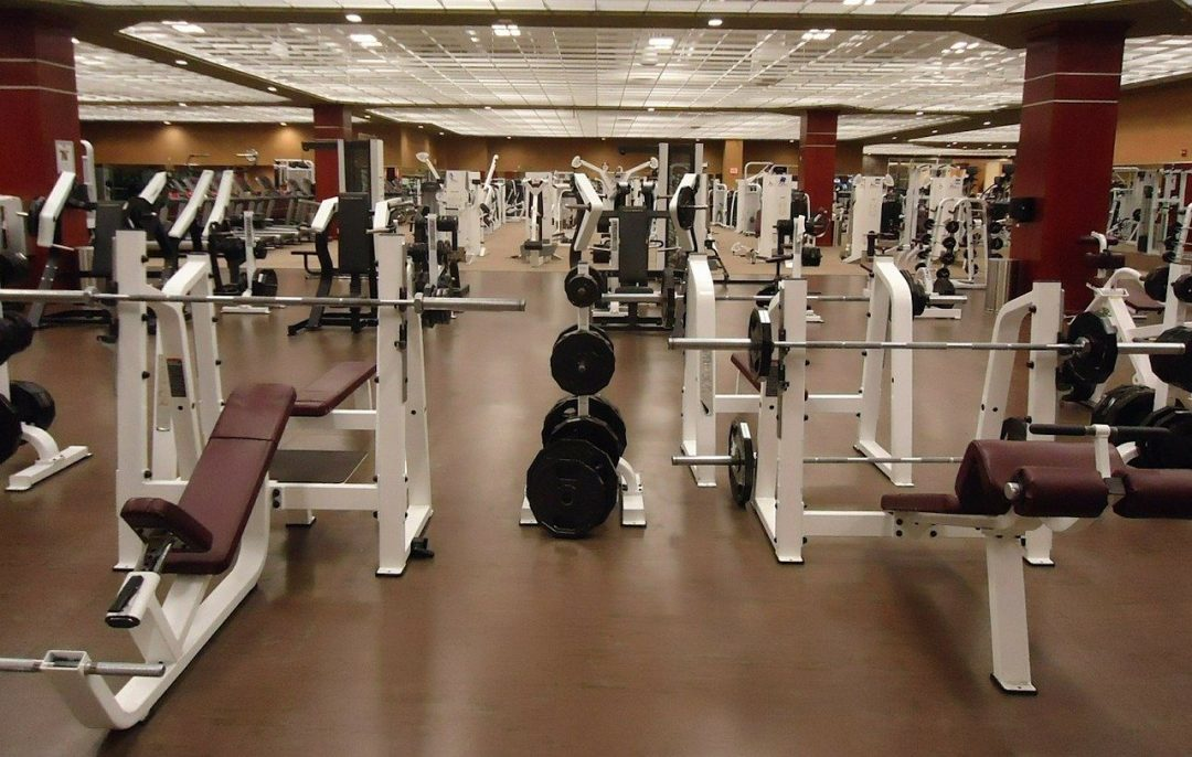 electrostatic disinfecting service for gyms